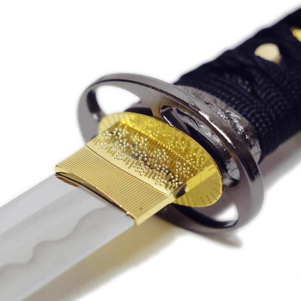 匠刀房 懐剣 黒糸拵 NEU-101BK - 懐剣シリーズ 模造刀-3