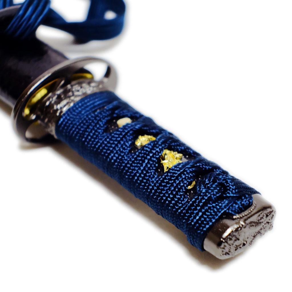 匠刀房 懐剣 紺糸拵 NEU-101KO - 懐剣シリーズ 模造刀-5