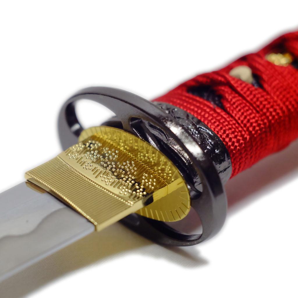 匠刀房 懐剣 赤糸拵 NEU-101RD - 懐剣シリーズ 模造刀-3