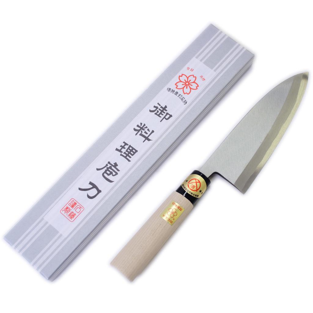 堺石藤 貞宗 出刃包丁 150mm 和包丁