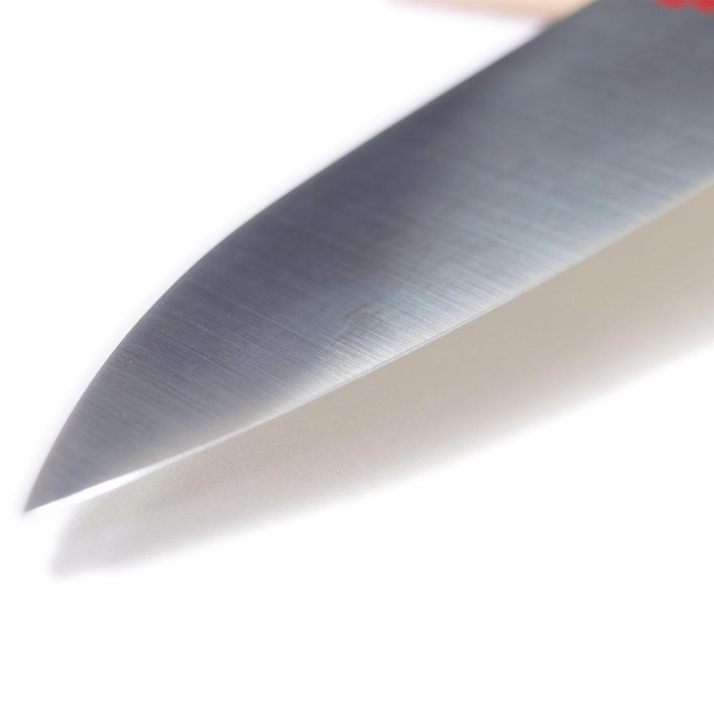堺石藤 貞宗 ステンレス モリブデン鋼 牛刀 180mm 本焼 包丁-5