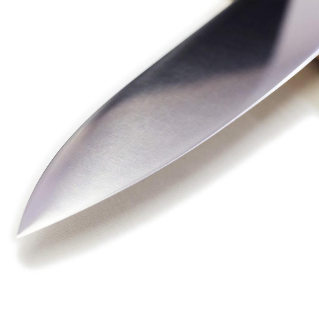 堺石藤 貞宗 ステンレス モリブデン鋼 牛刀 240mm 本焼 包丁-5