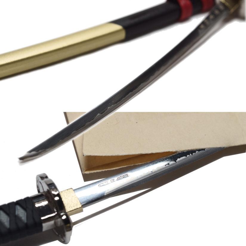 日本製 名刀ペーパーナイフ 織田信長 - 刀剣 関の刃物 関伝の美-4