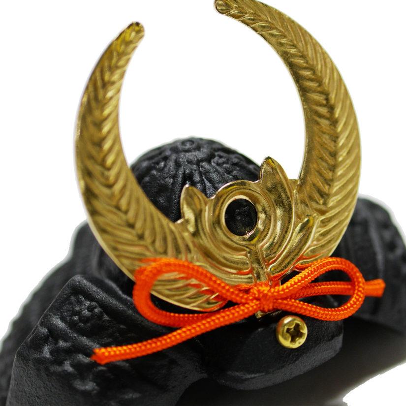豆兜 徳川家康 伝統工芸 座布団付き- 端午の節句 出世兜 インテリア-2