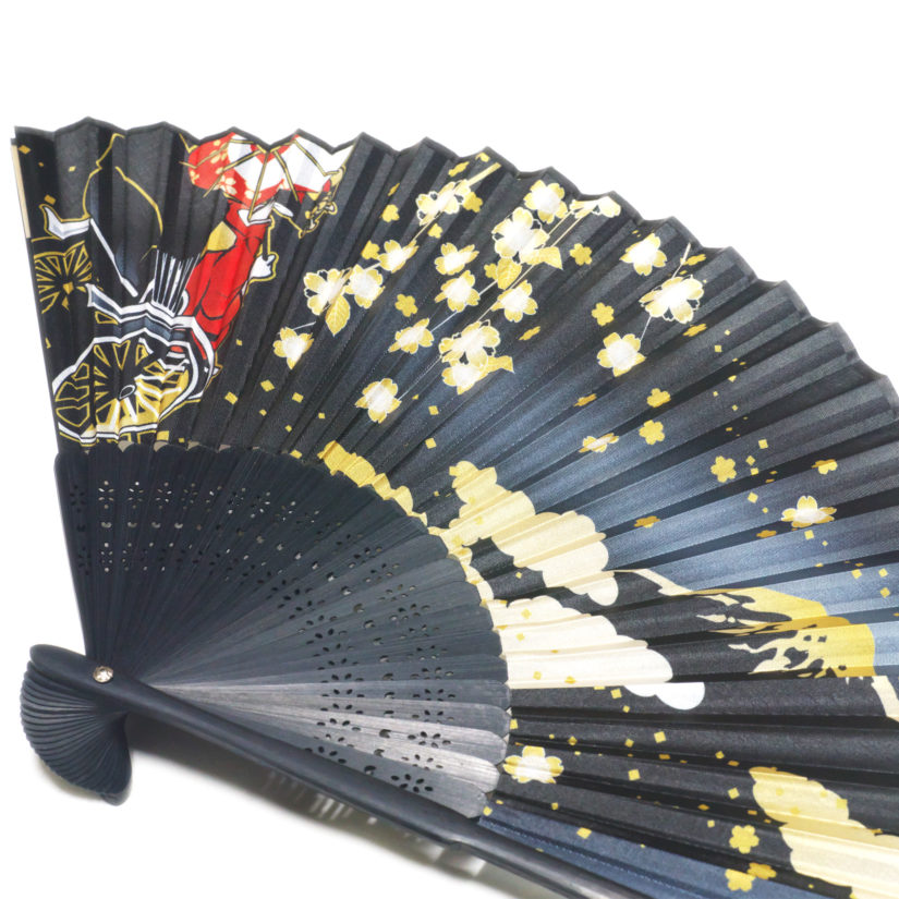 日本の美 彩り扇子 人力車舞妓 - おみやげ-3