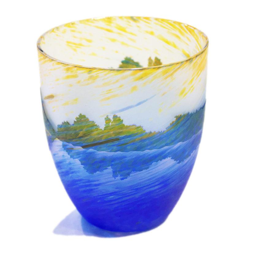 月夜野工房 カーブグラス 逆さ富士
