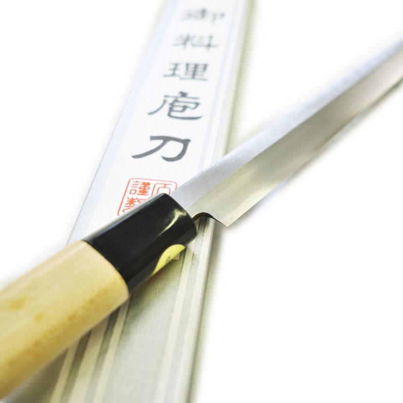 堺石藤 貞宗 蛸引包丁 210mm 和包丁 刺身包丁 柳葉-4