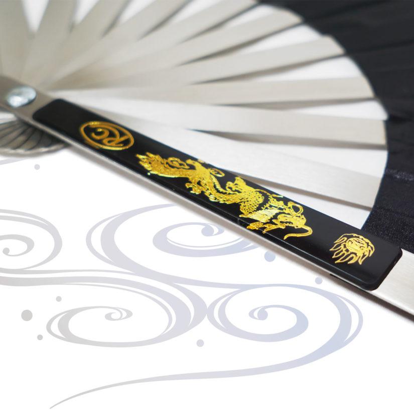 匠刀房 スチール扇 ナイロン製 時代劇小物-5