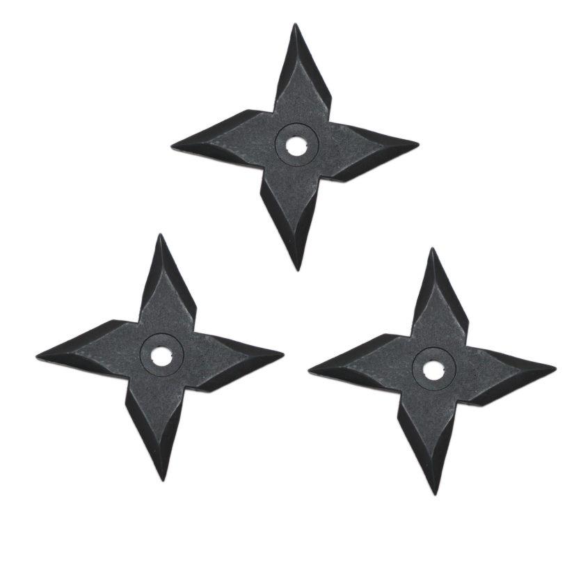 匠刀房 ゴム手裏剣ミニ 風車型 3枚セット-2