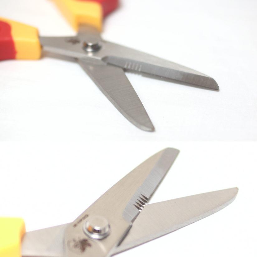 クラフトハサミ A.T.FIELD 弐号機モデル - エヴァンゲリオン ニッケン刃物 EV-25A-3