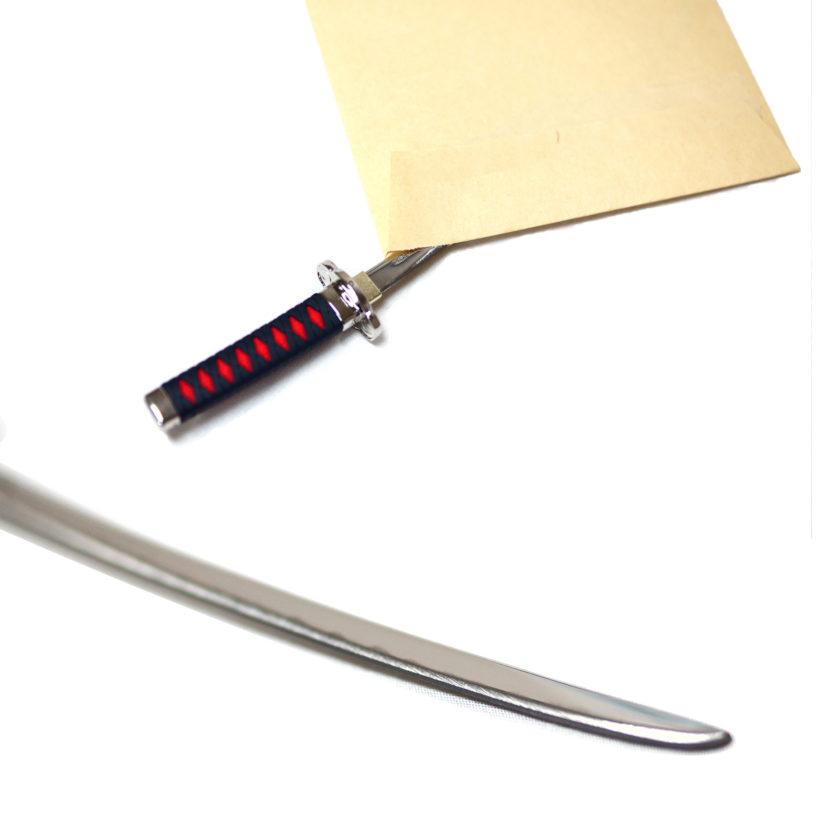 日本製 日本刀ペーパーナイフ 真田幸村モデル - ニッケン刃物 刀剣 関の刃物 関伝の美-4