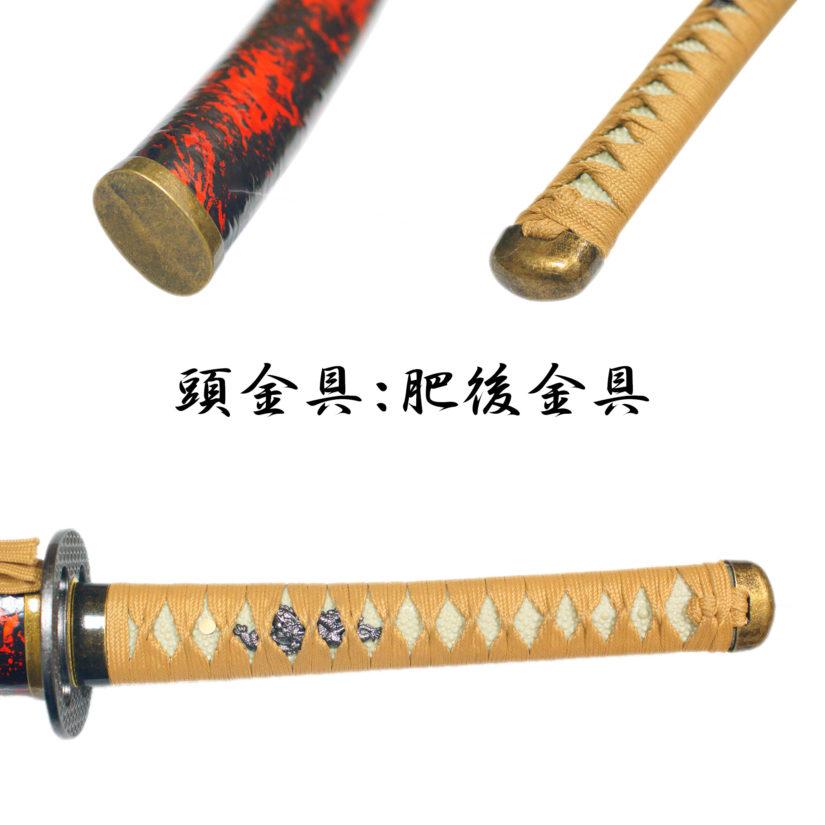 模造刀剣 逆刃刀 大刀 茶糸仕様 剣心 刀袋付 クロス付 匠刀房 NEU-167-3