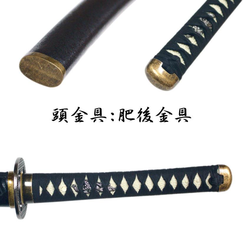 模造刀剣 逆刃刀 大刀 黒糸仕様 剣心 刀袋付 クロス付 匠刀房 NEU-168-3