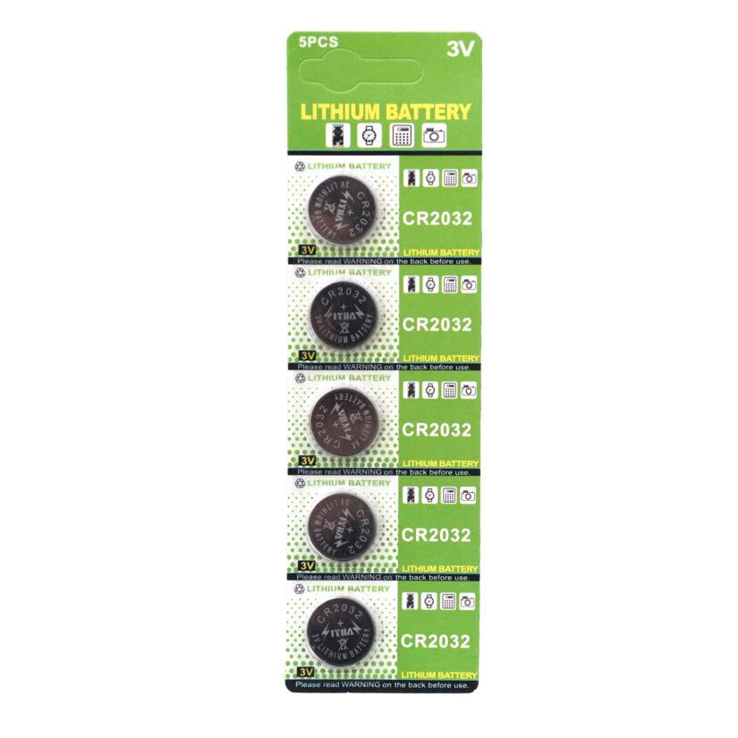 LIYUAN リチウムコイン電池 3V CR2032 5個 (1パック)