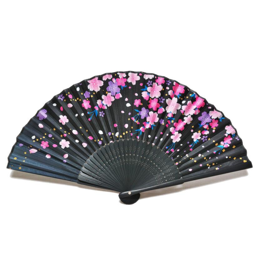日本の美 彩り扇子 しだれ桜 - おみやげ