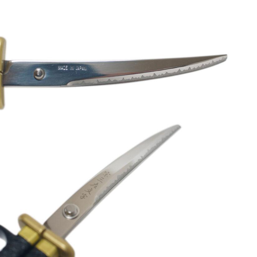 日本刀はさみ 綾田信長 - 日本刀 戦国武将 ニッケン刃物 SW-30N-4