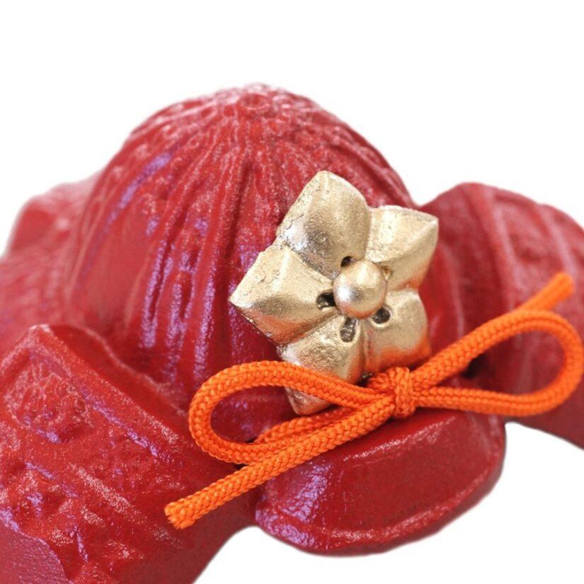 豆兜 明智光秀 伝統工芸 メルトン付き- 端午の節句 出世兜 インテリア-1