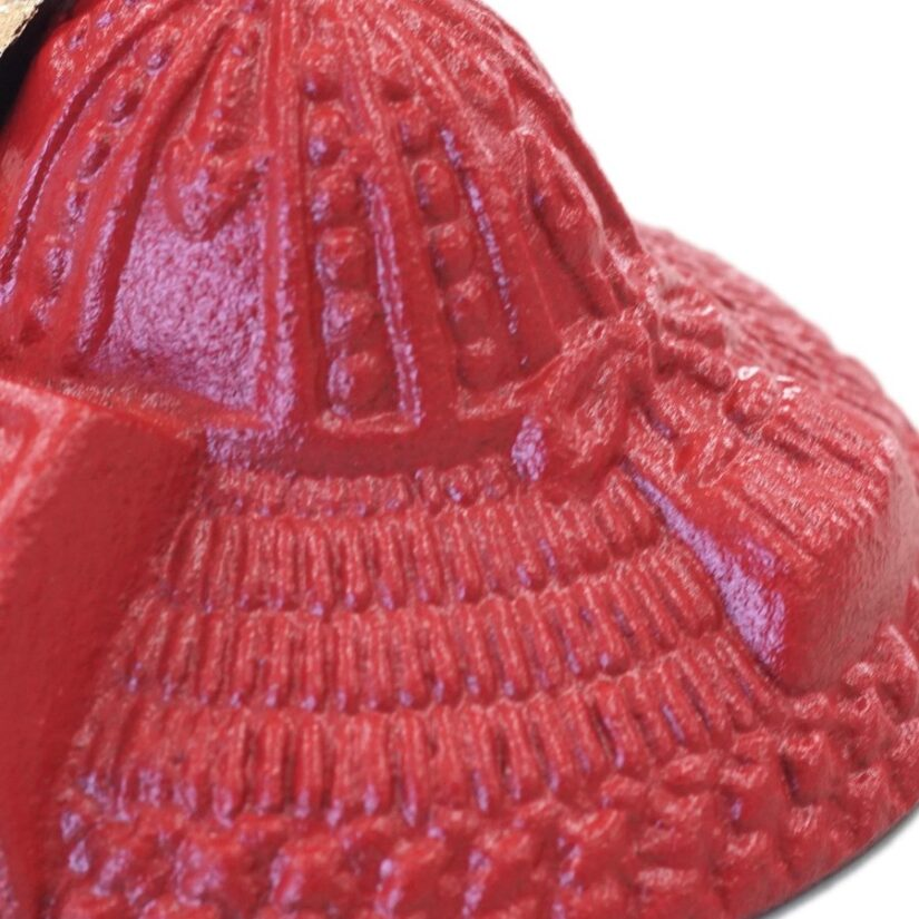 豆兜 明智光秀 伝統工芸 メルトン付き- 端午の節句 出世兜 インテリア-2