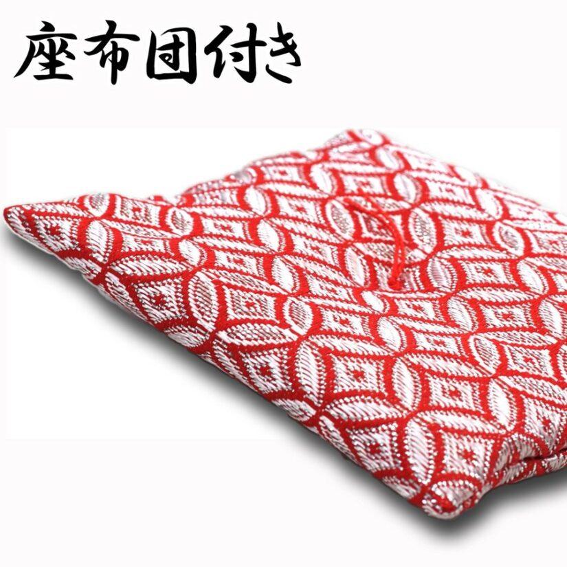 豆兜 日月 五月人形 座布団付き- 出世兜 伝統工芸 インテリア-4